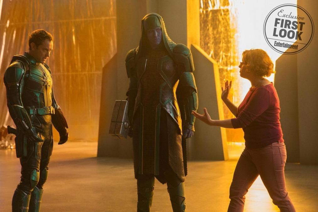 Ronan and Mar-Vell