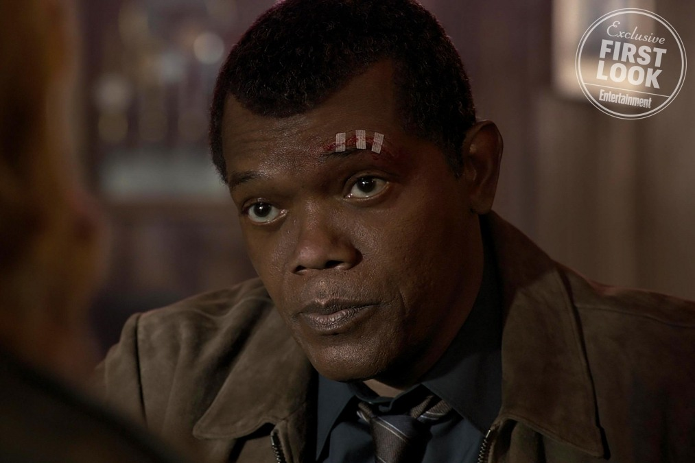 Young Nick Fury